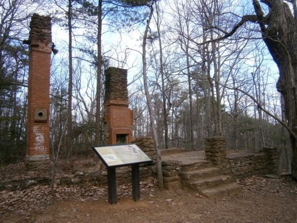 Fire tower house ruines