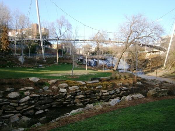 Reedy River Falls Historic Park