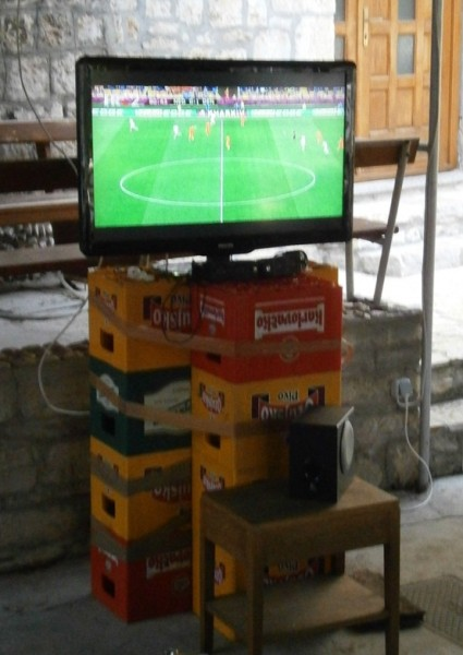 Futbal uber gajbes