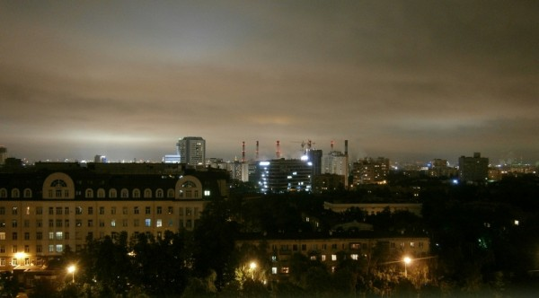 Moskva by night