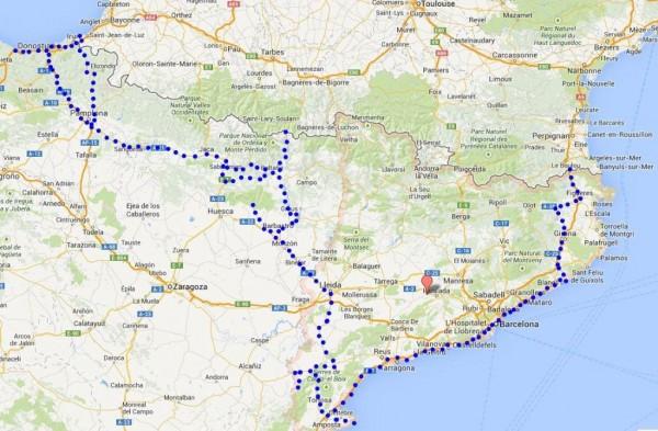 Španski del poti
