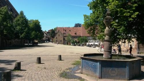 Samostanski trg v Maulbronnu