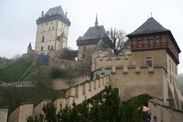 Veliki stolp, Marijanski stolp ter pod njim stolp z uro
