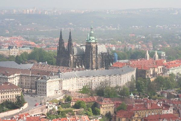 Pražsky hrad s katedralo sv. Vita