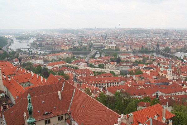 Karlov most in center mesta