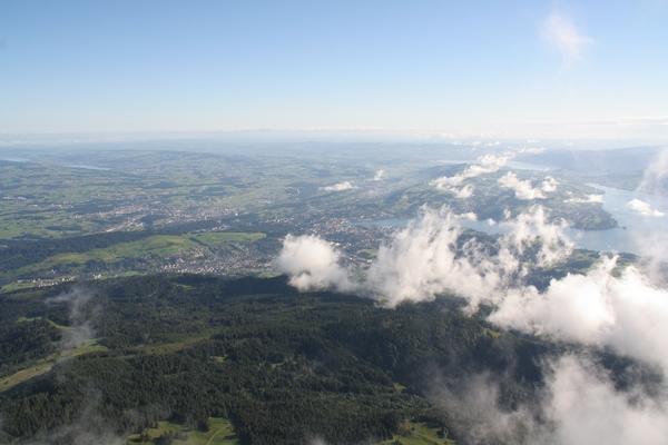 Pogled na Luzern iz Esla