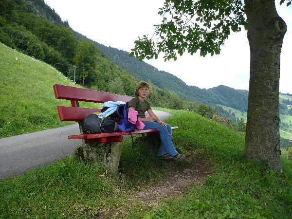 Počitek ob poti
