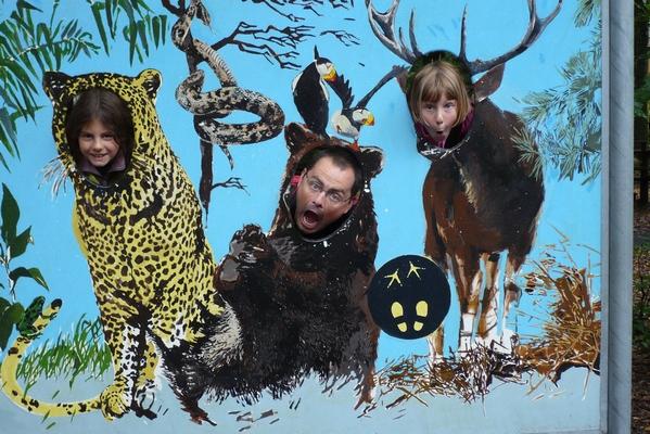 V živalskem vrtu so tudi divje zveri