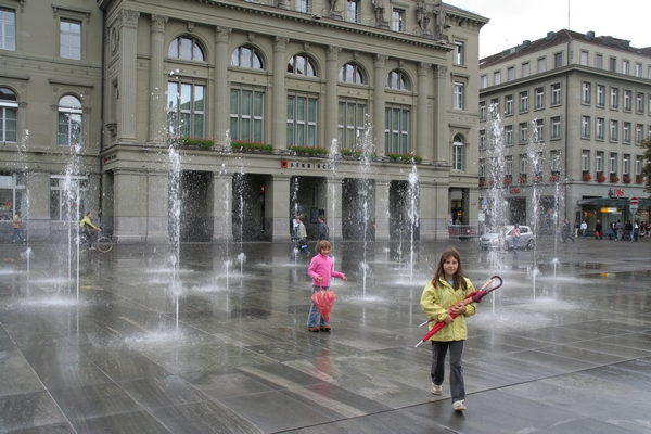Vodomet na Bundesplatzu