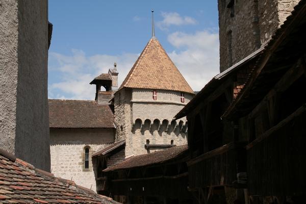 Grad je ena najbolj obiskanih švicarskih znamenitosti