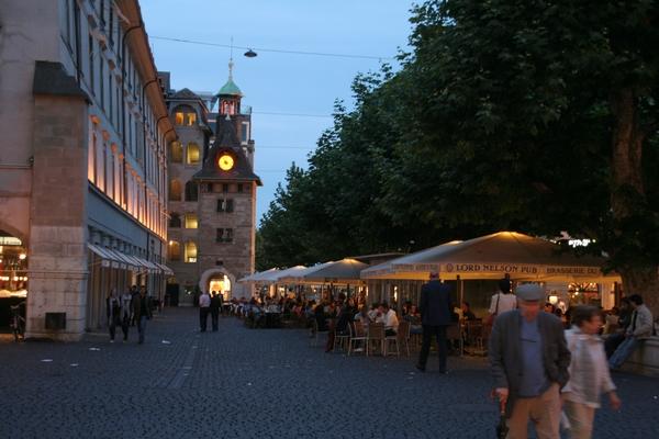 Večerni utrip mesta