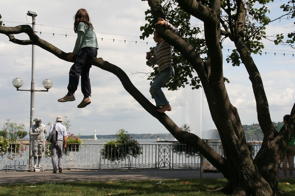 Ob Ženevskem jezeru