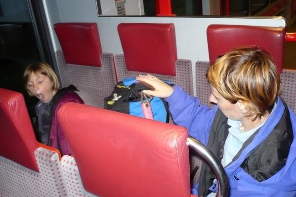 Na vlaku proti Zermattu
