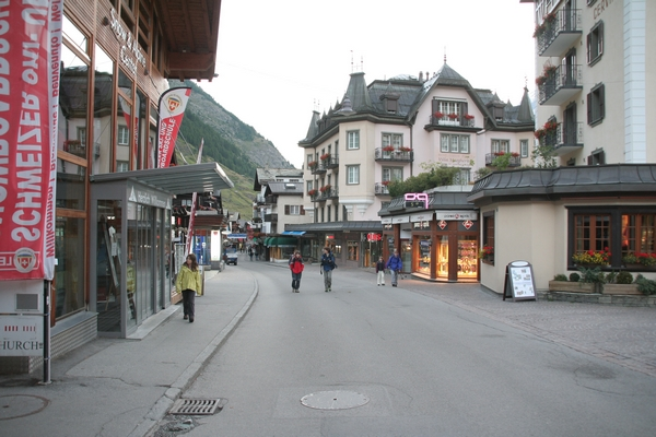 Jutro v Zermattu