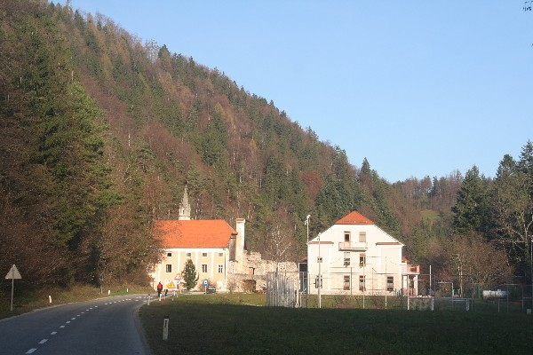Nekdanji samostan v Jurkloštru