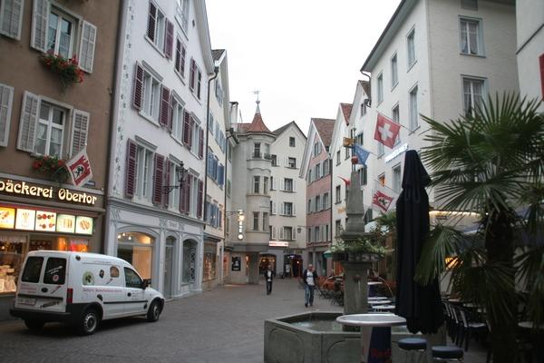 Chur je najstarejše švicarsko mesto