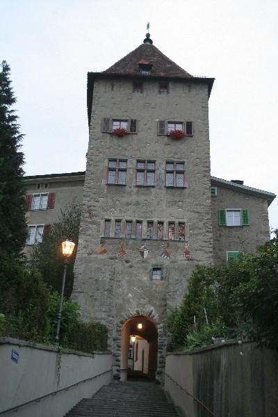 Prehod v gornji del mesta