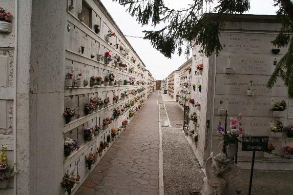 Pokopališče na otočku San Michele