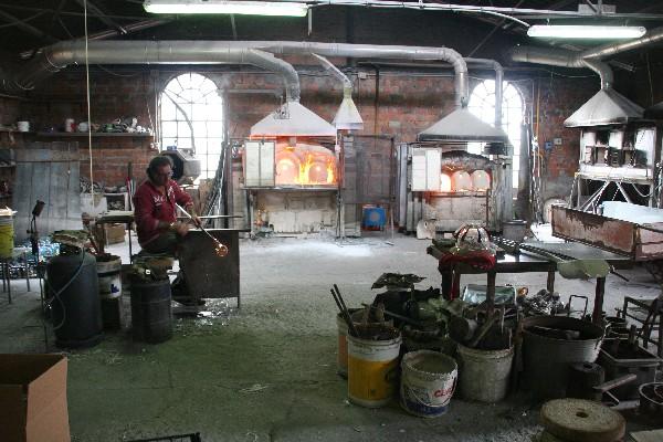 Steklopihač na Muranu