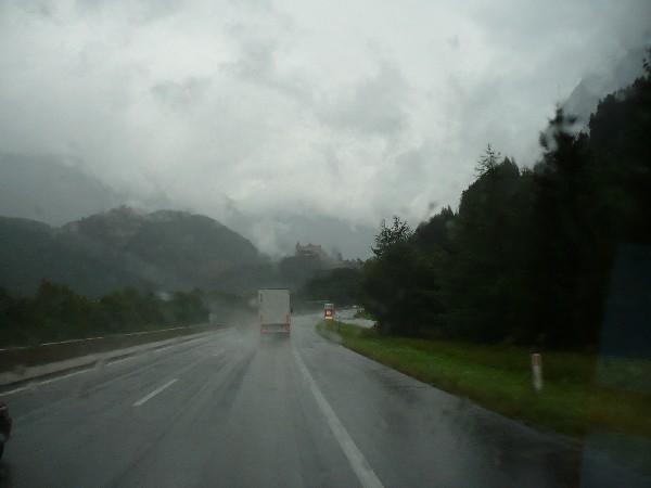 Deževna pot