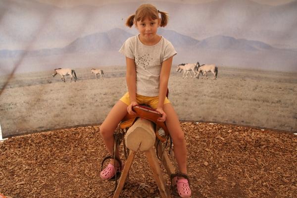 V mongolskem šotoru