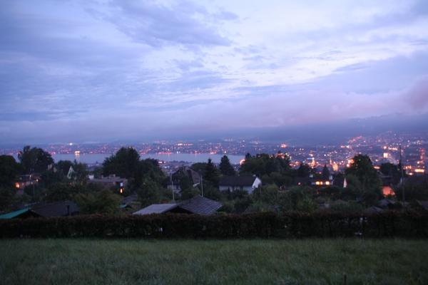 Večerni pogled na mesto