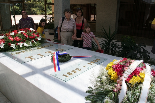 Grob Josipa Broza Tita