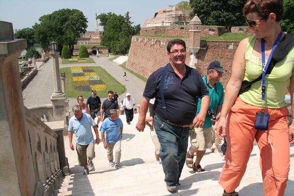 Sprehod po Beograjski trdnjavi