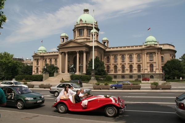 Nekdaj skupščina SFRJ, danes Republike Srbije