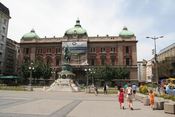 Spomenik Mihaila Obrenoviča