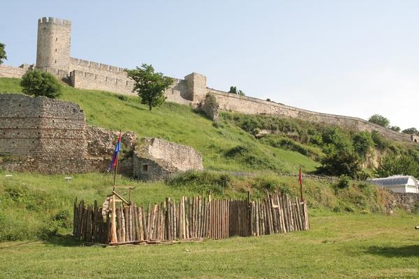 Beograjska trdnjava iznad Ušča