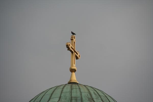 Križ na patriarhiji