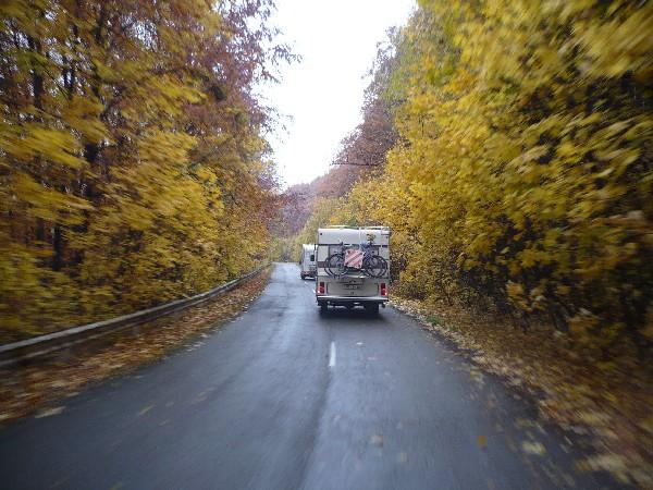Pot čez narodni park Bükki Nemzeti
