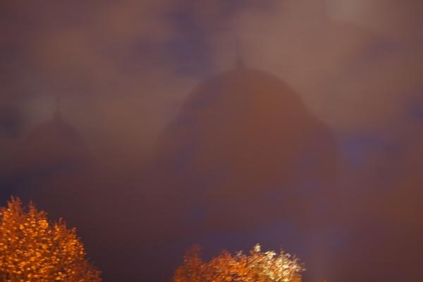 Odsev bazilike na oblakih