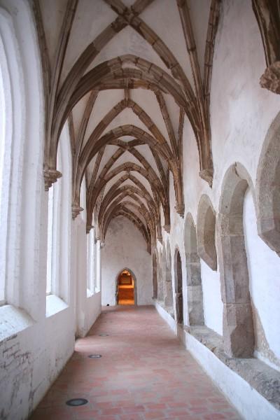 Križni hodnik in vhod v muzej