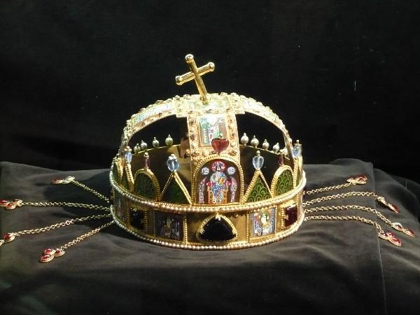 Madžarska kraljeva krona