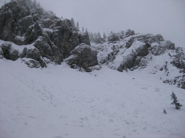 Strma pobočja Kosmatega vrha