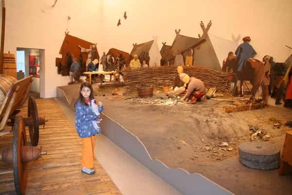 V vikinškem muzeju