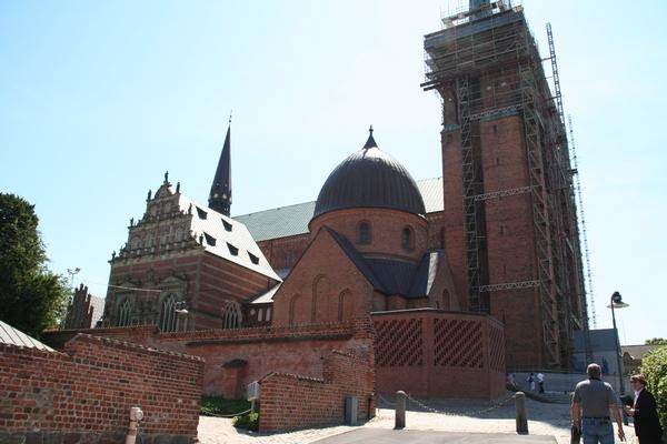 Stolnica v mestu Roskilde
