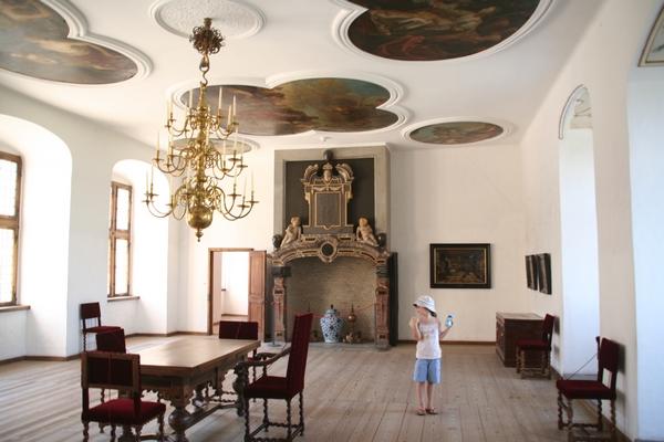 V notranjosti gradu Kronborg