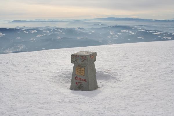 Stebriček na vrhu