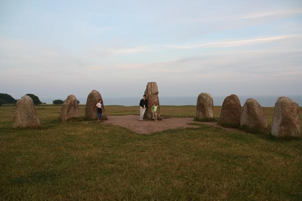 Največja kamna sta poravnana z lego sonca