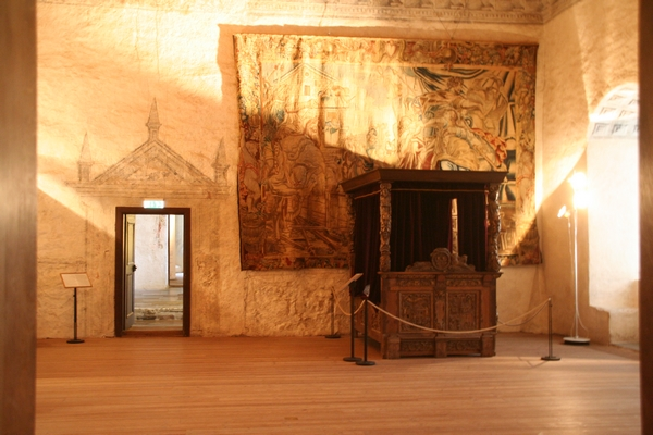 Notranjost gradu v Kalmarju