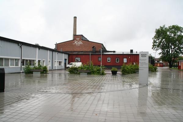 Tovarna steklarskih izdelkov v Kosti