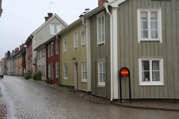 Eno najstarejših mestnih jeder na Švedskem