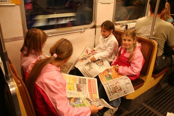 Na podzemni železnici