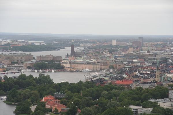 Center mesta iz stolpa