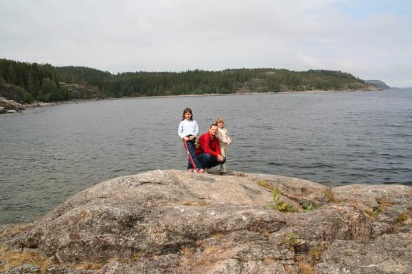 S puncama na obali