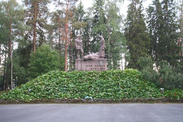 Spomenik drugi svetovni vojni v Rovaniemiju