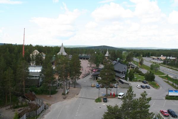 Pogled iz razglednega stolpa